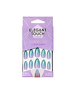 Elegant Touch Chrome Violet Vixen