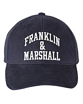 Franklin & Marshall Navy Logo Cap