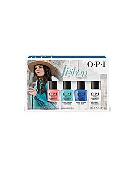 OPI Lisbon Nail Lacquer 4pc Mini Pack