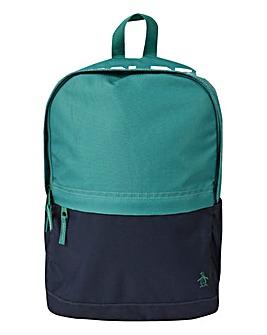 Original Penguin Green Back Pack