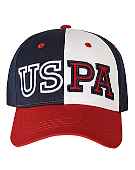 U.S. Polo Assn Red Varsity Cap