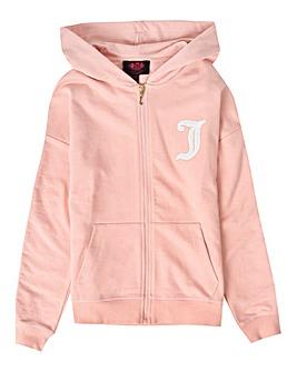 Juicy Couture Girls Pink Hoodie