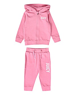 Juicy Couture Baby Girl Pink Jog Set