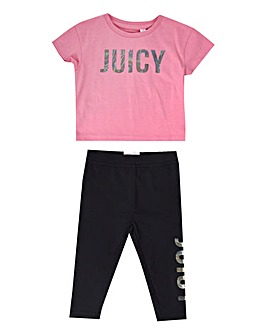 Juicy Couture Baby Tee and Legging Set