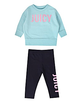 Juicy Couture Baby Sweat and Legging Set