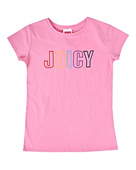 Juicy Couture Girls Pink Tee