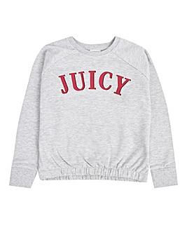 Juicy Couture Girls Grey Sweatshirt