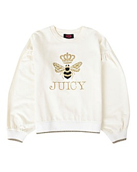 Juicy Couture Girls Bee Sweatshirt