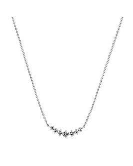 Simply Silver Cubic Zirconia Necklace
