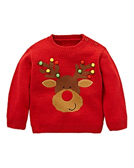 KD Matching Family Baby Christmas Jumper