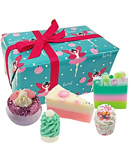 Bomb Cosmetics Sugar Plum Fairy Bath Bomb Gift Set