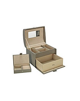 Medium Jewellery Box with Travel Set