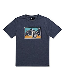 Animal Boys Indigo Retro Tee