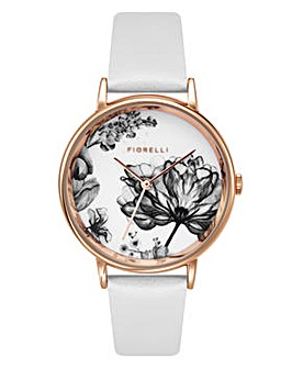 Ladies Fiorelli Round Dial Strap Watch