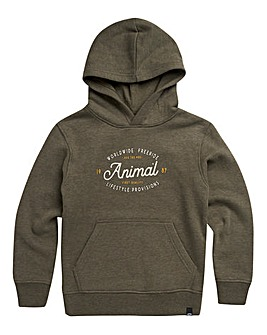 Animal Boys Olive Atlas Hoodie