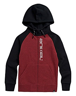 Animal Boys Red Humming Zip Hoodie