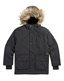 Animal Boys Grey Pole Parka