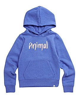 Animal Girls Blue Marl Rachelle Hoodie