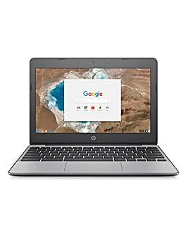 """HP Chromebook 11.6"""" 4GB 16GB Ash Grey"""