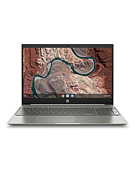 HP Chromebook 15.6in 4GB 16GB Ceramic White