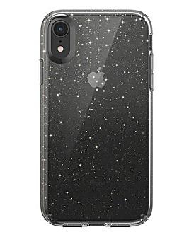 Speck iPhone XR Presidio - Clear & Gold Glitter