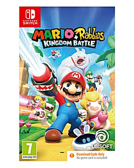 Mario & Rabbids Kingdom Battle - (Code in a Box) Nintendo Switch