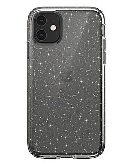 Speck iPhone 11 Presidio - Clear & Gold Glitter