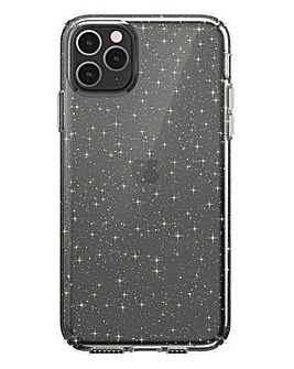 Speck iPhone 11 Pro Max Presidio - Clear & Gold Glitter