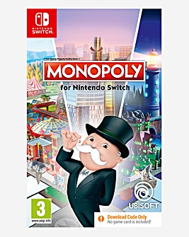 Monopoly - (Code in a Box) Nintendo Switch