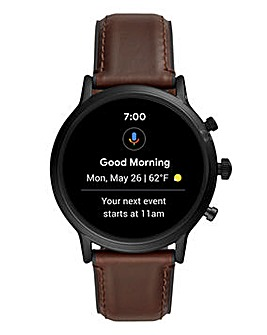 Fossil The Carlyle HR Smartwatch 44mm - Black