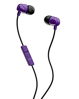 Skullcandy JIB With Mic Wired Headphones - Purple