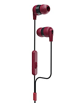 Skullcandy INKD+ Wired Headphones - Moab Red
