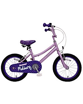 "Townsend Mullberry Girls Mountain 10"" Frame 16"" Wheel"
