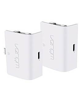 Xbox Series S Twin White Battery Packs