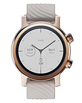 Moto360 WearOS Smartwatch - Rose Gold