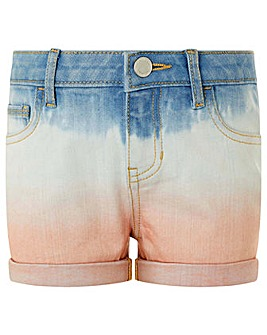 Monsoon Darlene Denim Tie Dye Short