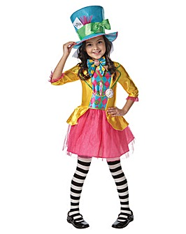 Alice Wonderland Mad Hatter Girl Older