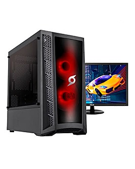 Stormforce i3, 8GB, 1TB, GTX 1650, WiFi, Win 10 - Gamer Bundle