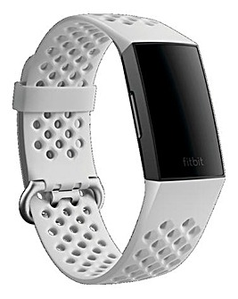 Fitbit Charge 3 & 4 Sport Band - Frost White