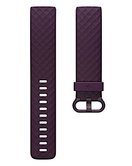 Fitbit Charge 3 & 4 Woven Band - Rosewood