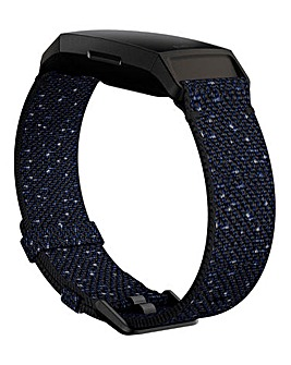 Fitbit Charge 3 & 4 Woven Band - Midnight