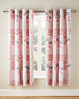 Dahlia Eyelet Lined Curtains