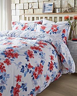 Jasmin Reversible Print Duvet Set