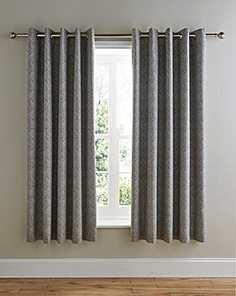 Hanworth Lined Eyelet Curtains