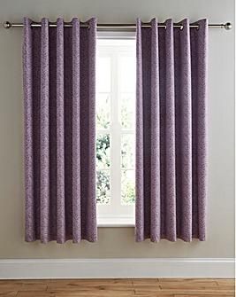 Hanworth Lined Eyelet Curtains