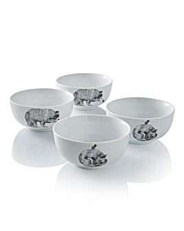 Portmeirion Let's Go Wild! Set of 4 Bowl
