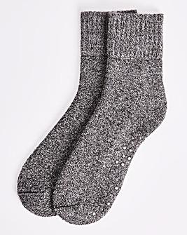 Light Grey Cosy Lounge Sock