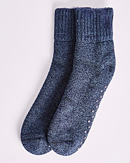 Blue Cosy Lounge Sock