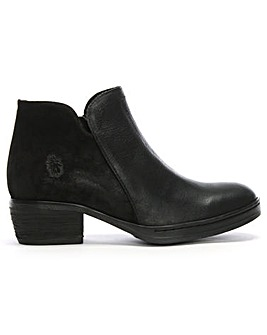 Fly London Cled Leather Ankle Boots