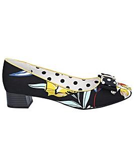 Ruby Shoo June Low Heel Court Shoe